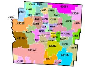 Columbus Oh Zip Code Map by Zip Code All Columbus Ohio Data