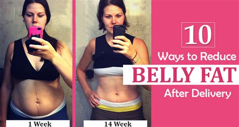 10 ways to reduce belly after delivery