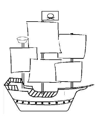 how to draw a pirate ship doodle the world s catalog of ideas