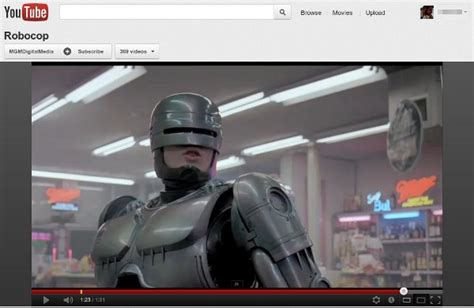 youtube film robocop mgm delivers 600 movies to youtube and google play gives