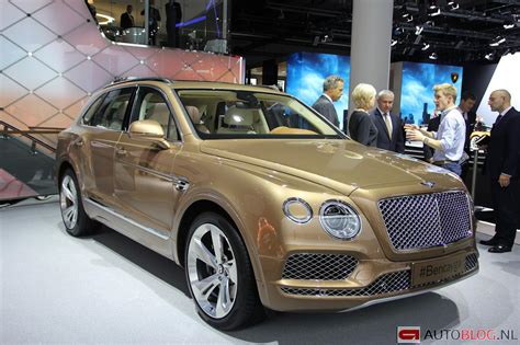 bentley bentayga 2015 foto beurzen frankfurt 2015 bentley bentayga bentley