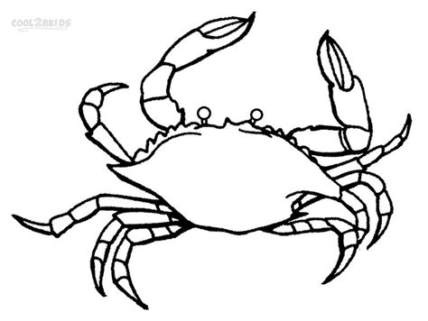 Free Coloring Pages Of Crab Crab Colouring Pages