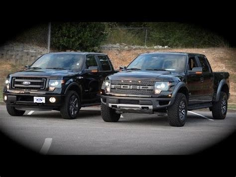 ford f150 vs f250 new ford f150 raptor vs fx4 overview comparison review
