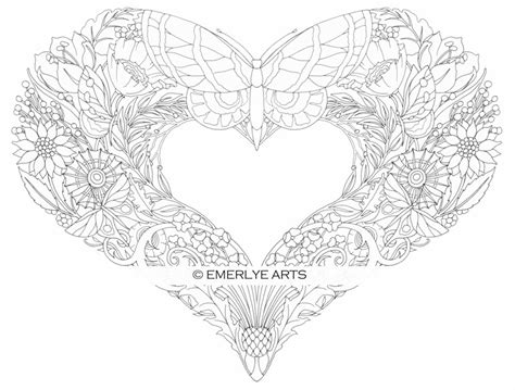 coloring pages for adults heart cynthia emerlye vermont artist and life coach november 2013