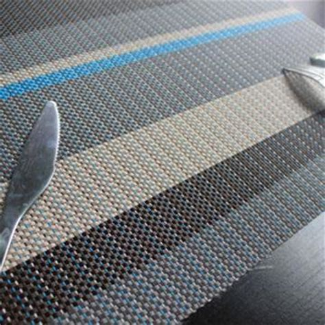 Get Cheap Woven Vinyl Placemats by Colorful Woven Vinyl Placemat In Rectangular Shaped Sized