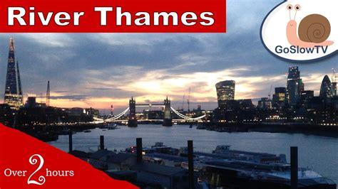 london thames river youtube river thames london beautiful sunset uk england slow