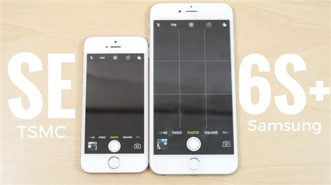 iphone se vs iphone 6s plus ios 10 2 speed test
