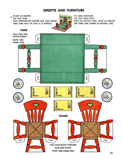 dolls house furniture templates printable dollhouse furniture templates invitation