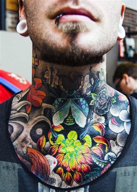 best neck tattoo designs for men top 40 best neck tattoos for manly designs and ideas