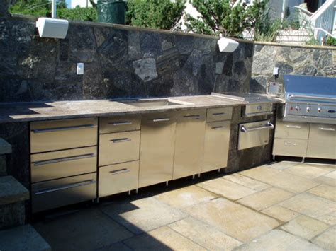 stainless steel cabinets for outdoor kitchens stainless steel outdoor kitchen cabinets steelkitchen
