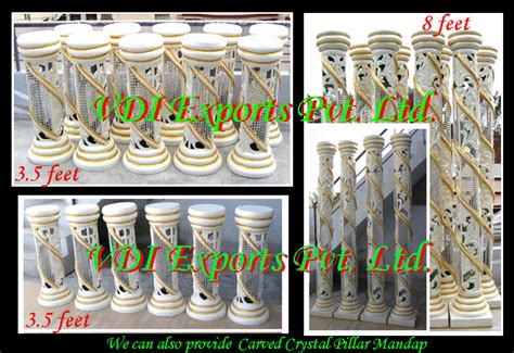 Wedding Aisle Pillars by Aisle Corridor Fibre Statues And Indian Wedding Accessories