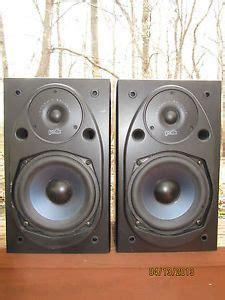 Polk Audio Rt15i Bookshelf Speakers Vintage 70 S Janszen Z412hp Electrostatic Audio Stereo