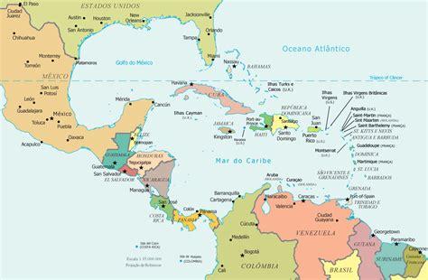 mapa america central y antillas imagens do mapa da am 233 rica central ig10