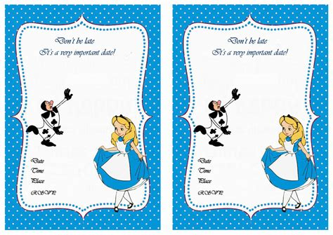 printable pictures alice in wonderland alice in wonderland free printable birthday party