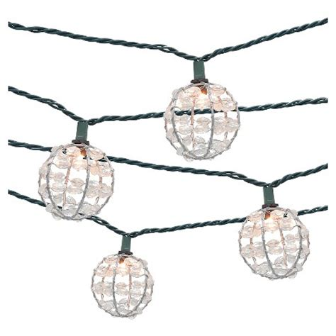 Patio String Lights Target by 10ct Decorative String Lights Metal Wire Cover With