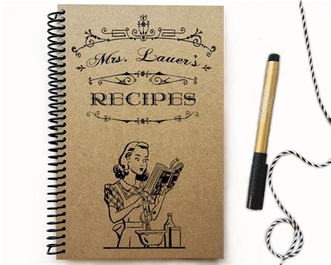 our family cookbook the blank recipe journal letter format to write in all your favorite family recipes and notes books amz kraft notebook