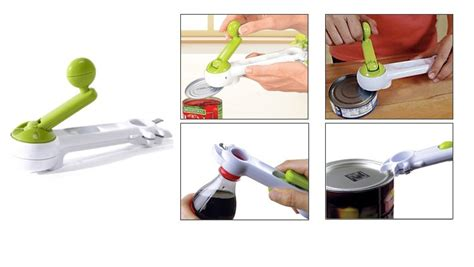 Pembuka Botol Dan Kaleng 7 In 1 Kitchen Can Openner Hijau kitchen can do pembuka botol kaleng 7 in 1 niyaga