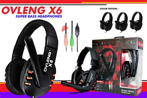 Gaming Headset Ovleng X6 indigital trading supplier aksesoris komputer termurah