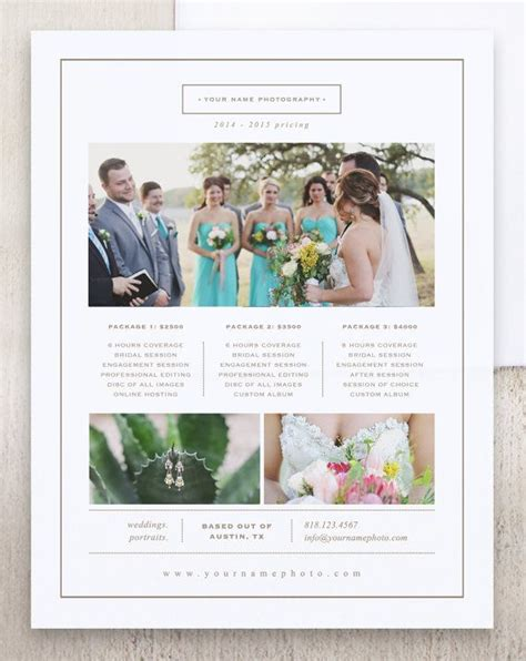 Best 25 Photography Price List Ideas Only On Pinterest Photography And Videography Nikon D1 Videography Price List Template
