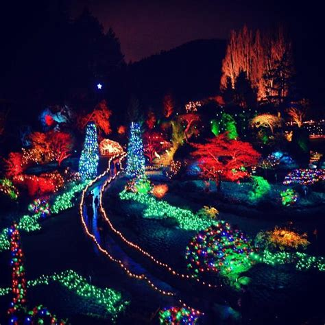 where to see bc s festive holiday lights