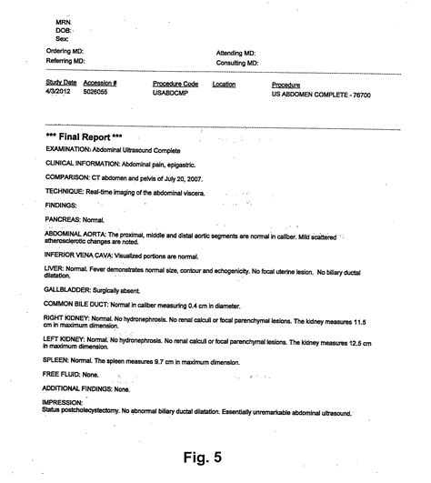 radiology report template patent us20140094699 process for producing a radiology