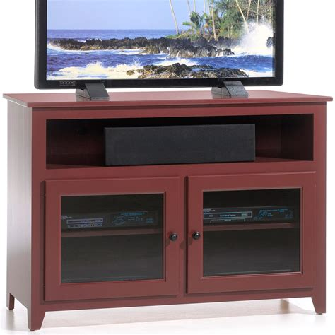 Glass Door Tv Cabinet Amish Tv Media Stand Linden Glass Door Tv Cabinet Handcrafted Tv Stands