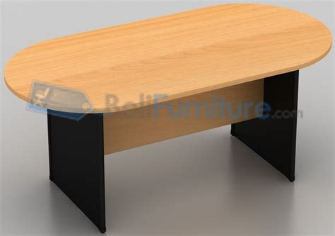 uno classic meja meeting oval 180 cm meja kantor murah bergaransi dan lengkap belifurniture