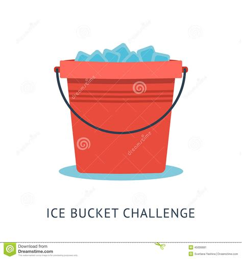 Graphic Design Home Based Business als ice bucket challenge stock vector image 45006681