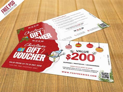 discount card template psd free gift voucher psd psd