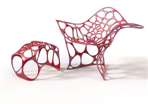 3d Printed Chair by 3d Stuffmaker Makers Of 3d Stuffmaker Desktop 3d Printer