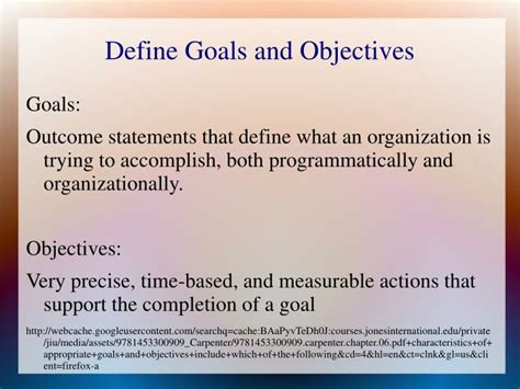 objective statement meaning definition of objective statement 28 images ppt