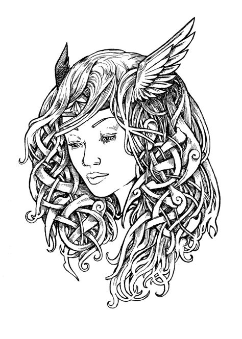valkyrie tattoo designs trends valkyrie design ink drawing