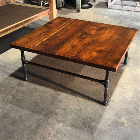 15 the best handmade wooden coffee tables
