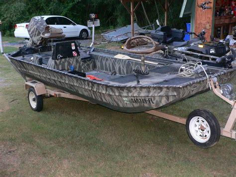 jon boat duck boat fisher duck boat jon boat with 75 hp outboard the