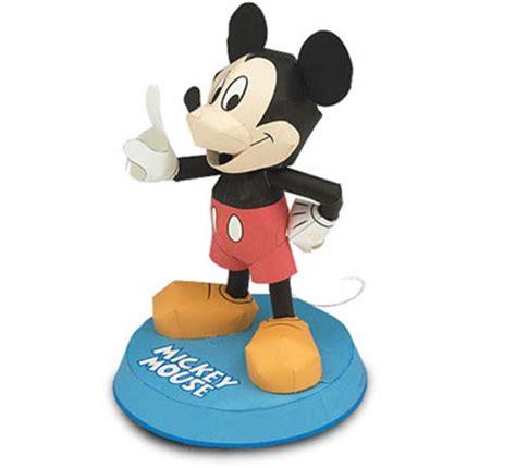 Disney Papercrafts - disney mickey mouse papercraft paperkraft net free