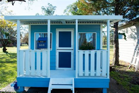 cubby house paint scheme s and design ideas tips and tricks cubby houses and forts