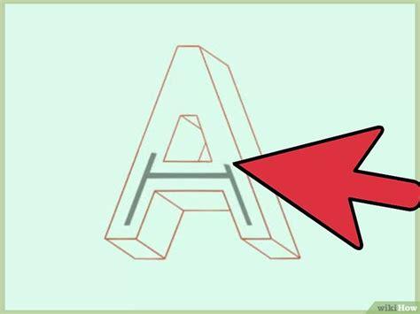 c 243 mo dibujar letras 3d con efecto de sombra 7 pasos