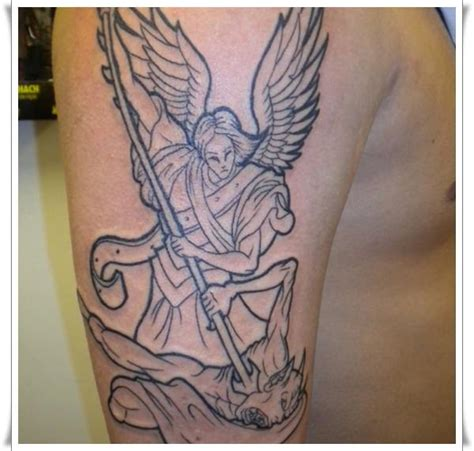michael angel tattoo designs 30 st michael design ideas
