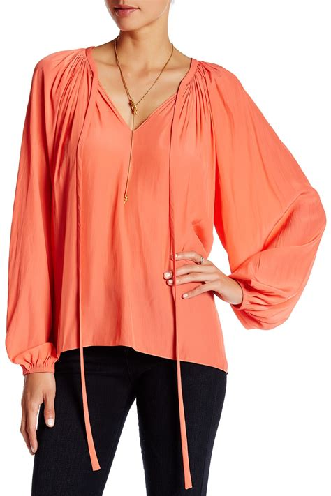 Tokyo Jumbo Blouse By Shop ramy brook japanese tech blouse nordstrom rack
