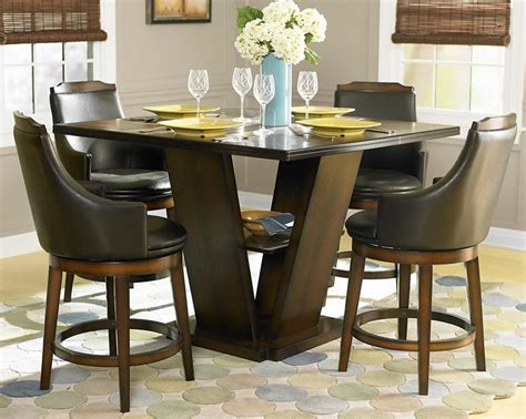 rooms to go bar table counter height dining set