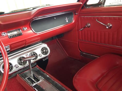 Black Mustang Interior image gallery 1965 audi interior