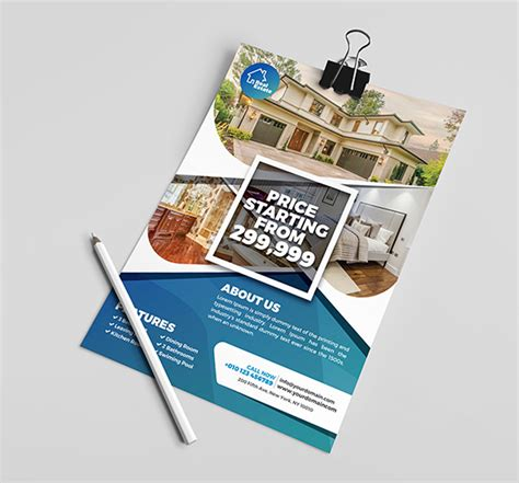 Professional Real Estate Flyer Templates