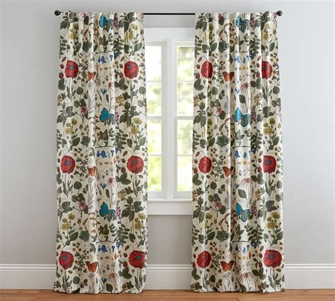 Blue Poppy Curtains Curtains Ideas 187 Botanical Print Curtains Inspiring Pictures Of Curtains Designs And