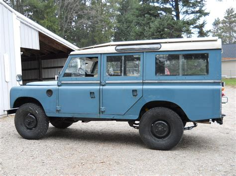 land rover series 3 1972 land rover series iii 109 station wagon