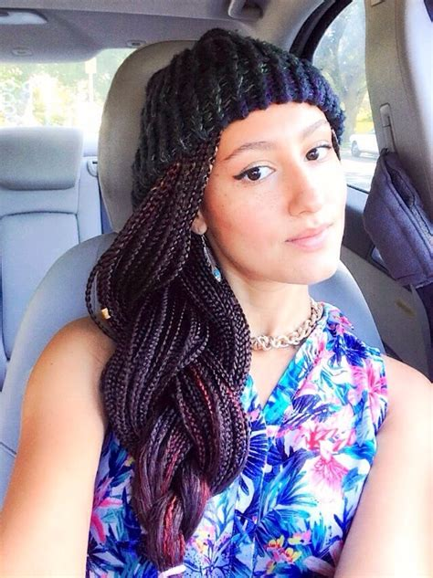how to darken your box braids color mid length box braids i love em color 33 dark burgundy