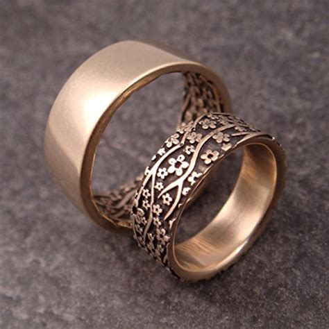 is the wedding band on the inside or outside inexpensive wedding rings wedding band inside outside