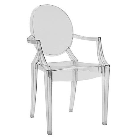 Philippe Starck Ghost Chair by Original Kartell Philippe Starck Louis Ghost Clear