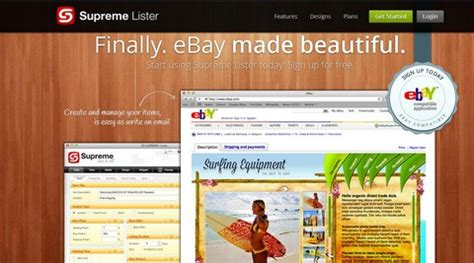 ebay turbo lister templates 8 free ebay auction listing software tools web cool tips