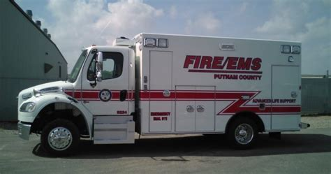 Putnam County Florida Records Ten 8 Equipment Braun Chief Ambulance Purchased By Putnam County Florida