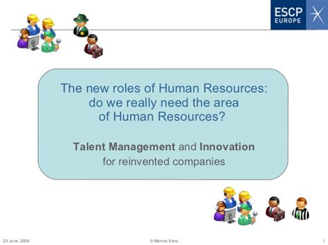 Strategic Hrm Ppt For Mba by New Roles Of Human Resources Ppt